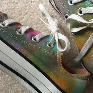 84f9cc8e89fe Converse All Stars Shoes - Tie Dyed Converse All Stars! Size 5 (Kids size